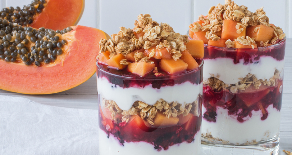 Red-Papaya--Mixed-Berry-Parfaits