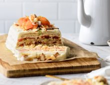 Tropical Papaya Refrigerated Cake