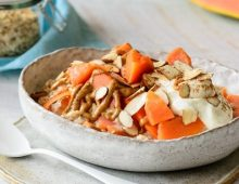 Papaya and Almond Porridge